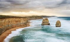 The 12 Apostles // After a hectic post wedding week I've finally had a chance to process some images from our recent trip down the Great Ocean Road with our amazing wedding photographer @tanjakibogo #greatoceanroad #12apostles #troywittedesign #nikon #d800e #rrs #guragear @greatoceanroad by troywittedesign http://ift.tt/1ijk11S
