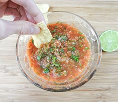 Roasted Salsa Chips