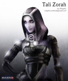 Mass Effect. Tali
