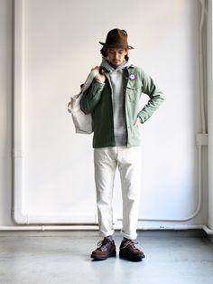 orSlow Ivy Fit Pants 107 Cords