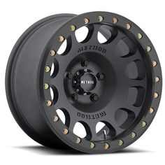 Matte Black Beadlock Off-road Jeep Wheel | Method Race Wheels
