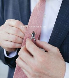 Shrinky Dink Tie Tack for Father's Day
