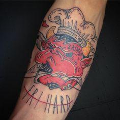 Красная ворона прокачивает парней из #Chuckfamily ) покрасили еще одного повара. Спасибо, Лех! #redraven_tattooshop #SPB #SPBTATTOO #FRVRFRRS #FRIHARD #OLDSCHOOL #OLDSCHOOLTATTOO #CHEF #CHEFTATTOO #DEVIL #DEVILTATTOO #doingthelordswork #вркнгхрдтдй #meatareachuck