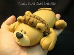 Lion Cake Topper, via Etsy.