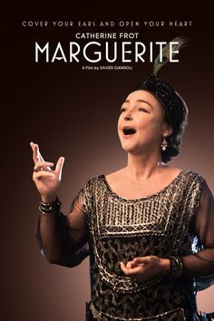 Marguerite Movie Poster - Catherine Frot, André Marcon, Michel Fau  #Marguerite, #CatherineFrot, #Andr, #Marcon, #MichelFau, #XavierGiannoli, #Foreign, #Art, #Film, #Movie, #Poster