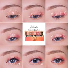 Hooded eyes makeup hacks, tips, tricks for people with hoode… – Face Makeup Ideas Makeup Trends, Makeup Inspo, Makeup Tips, Beauty Makeup, Makeup Style, Makeup Ideas, Face Makeup, Korean Makeup Look, Asian Eye Makeup