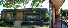 Pod House by KKE Architects, Worcester. Extension to 1960s bungalow.