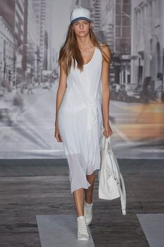 Delicate volumes and an immaculate styling turned sports fashion unapologetically sophisticated for the spring 2013 fashion season.
