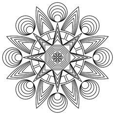 Mandala 762, Free printable mandala coloring pages