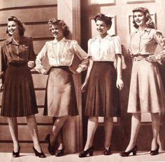1940' skirt history