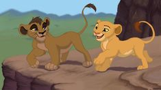 Kweli and Sarafina as cubs