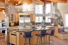 Kitchen designed with 2 chefs in mind. And counter designed for a shorter chef - ie ME!!!!
