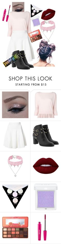 """Modern Day Princess"" by talibearblogs ❤ liked on Polyvore featuring Milly, Carven, Design Lab, Lime Crime, Kat Von D, RMK, Too Faced Cosmetics and modern"