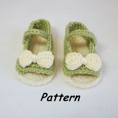 R0SEDEW on Etsy: New Open Toe Summer Baby Shoes w Optional Bow or Flower