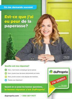 Se poser les bonnes questions avec DuProprio - Infopresse Questions, Rural Area