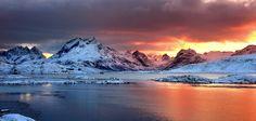 Lofoten sunset by Russo Francesco on 500px