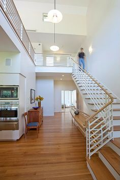 Contemporary Staircase - Come find more on Zillow Digs!