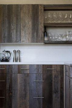 Armoires cuisine bois de grange 2