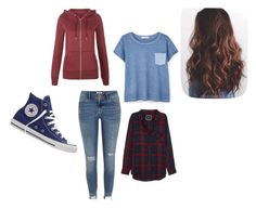 """""""Untitled #78"""" by jordynnseller on Polyvore featuring MANGO, River Island, Rails, New Look and Converse"""