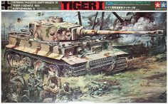 """Tamiya German Tiger-I 1/25 Scale """"Full Interior"""" Vintage Classic Model Series. Only Model with Interior Details! (No Motor)"""