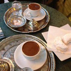 Damla saklızlı lokum ve kahve @ Bağdat Kahvecisi, İstanbul  Mastika Lokum and Coffee