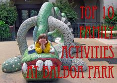 Top 10 attractions for families at Balboa Park in San Diego