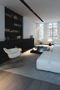 modern interiors & architecture — captvinvanity:  Dmi Kruglyak| Living room