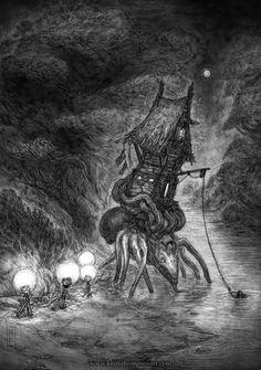Drakia: Hut of Baba Yaga. Illustrated by Keith Thompson