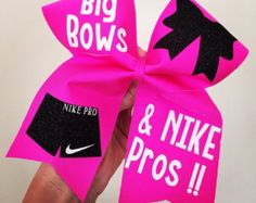 Just Do It Spandex Cheer bow green Blue Yellow by TalkToTheBow