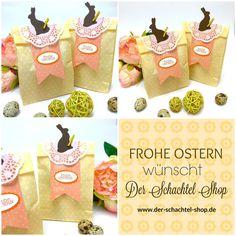 Ostergeschenke verpacken leicht gemacht!  www.der-schachtel-shop.de
