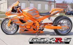 2006 GSXR 1000 Custom Orange Custom Sport Bikes, Custom Motorcycles, Cars And Motorcycles, 2006 Gsxr 1000, Suzuki Gsx R 600, Biker Boys, Gsxr 600, Sportbikes, Hot Bikes
