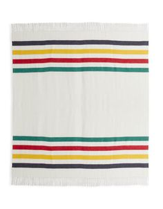 HBC | Blankets & Throws | Signature Stripe Throw - Classic | Hudson's Bay