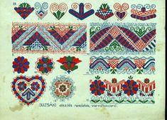 Hungarian Embroidery Stitch A teljes méretű képhez kattints ide Hungarian Embroidery, Folk Embroidery, Learn Embroidery, Floral Embroidery, Chain Stitch Embroidery, Embroidery Stitches, Embroidery Designs, Stitch Head, Embroidery Techniques