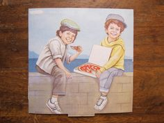 The 19 Coolest Pizza Boxes You've Never Seen Pizza Boxes, Record Holder, Guinness World, Good Pizza, World Records, Artsy, Crafty, Baseball Cards, Store