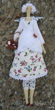 Куклы Тильды ручной работы. Ярмарка Мастеров - ручная работа Кукла-тильда Принцесса Роз Зимняя. Handmade.