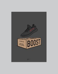 Image of ★ NEW ★ Yeezy 350 v2 Black Box