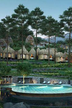 (Phuket, Thailand Sign us up! Keemala (Phuket, Thailand) - JetsetterSign us up! Beautiful Hotels, Beautiful World, Beautiful Places, Keemala Phuket, Ideas Cabaña, Phuket Thailand, Thailand Vacation, Farm Stay, Mountain Resort