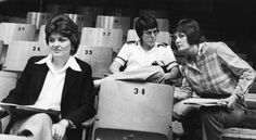 In an April 1, 1979, photograph, University of Tennessee coach Pat Head, right, talks to UCLA coach Billie Moore during the Pan American games trials at Stokely Athletic Center. At left is University of Texas coach Jody Conradt. All three are enshrined in the Women's Basketball Hall of Fame and Naismith Memorial Basketball Hall of Fame. (Jack Kirkland/News Sentinel)