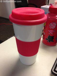 Spring Haul Marshalls Pink Coffee Travel Mug Travel Mugs, Coffee Travel, Marshalls, F21, Glitter, Posts, Spring, Tableware, Blog