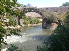 The bridge near Sanahin monastery, important among Armenian secular monuments, is located in the town of Alaverdi in the northern part of Armenia