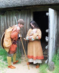 7th Century Anglo-Saxon family. méro