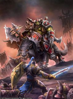 Warcraft - A Lion Among Wolves by SamwiseDidier.deviantart.com on @deviantART