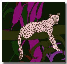 Marimekko fabric I Cheetah
