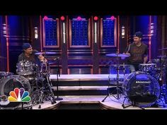 "Will Ferrell And Doppelgänger Chad Smith Have Epic Drum-Off On ""The Tonight Show"" http://www.youtube.com/watch?v=0uBOtQOO70Y&sns=em"