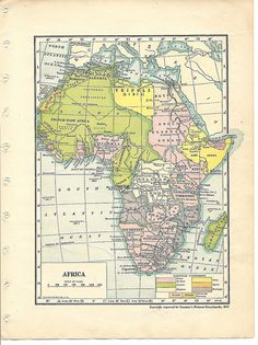 Map of Africa by greymowser2006, via Flickr