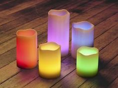 Use Battery-Operated Candles or natural light to create a calming and inviting yoga space :: sensory processing, reduce visual distractions, special education, special needs, autism, cerebral palsy