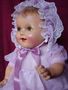 "26"" Huge Composition Baby Doll   eBay"