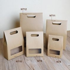 10 pcs livraison gratuite bricolage coffrets cadeaux vintage nature kraft carton sac à main effacer fenêtre de soja alimentaire nut emballage standup boîtes NT9(China (Mainland))