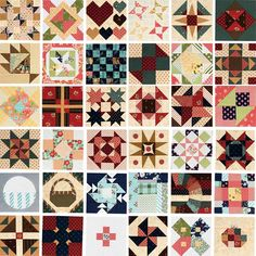 Can you believe it's been a whole year? February 14, 2016, Pat Sloan and Jane Davidson launched their Splendid Sampler with this heart block.