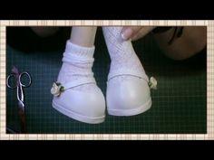 Tutorial muñeca de comunión: Faldas y mangas del vestido - YouTube